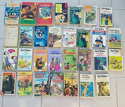 Enid Blyton Paperback Book Bundle. Adventure, mystery, Malory Towers, St Clare's