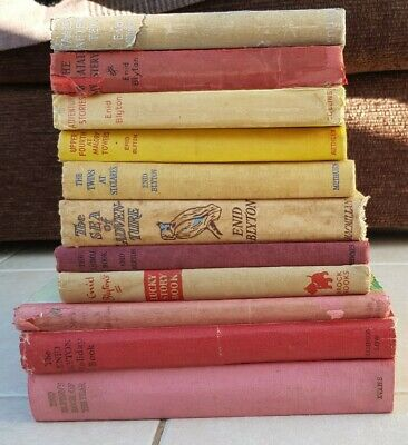 Enid Blyton Hardback Book Bundle, holiday book Malory Towers, Mystery, Adventure
