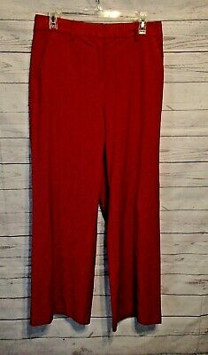 Body by Victoria dress pants, red, size 10