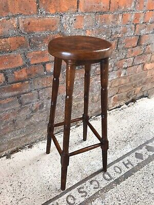French Vintage Tall Stool