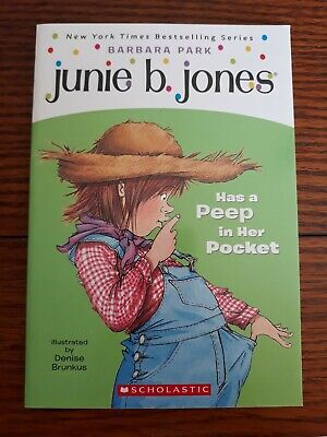 FIVE-PACK BUNDLE/LOT OF JUNIE B JONES - Brand New Paperbacks by Barbara Park