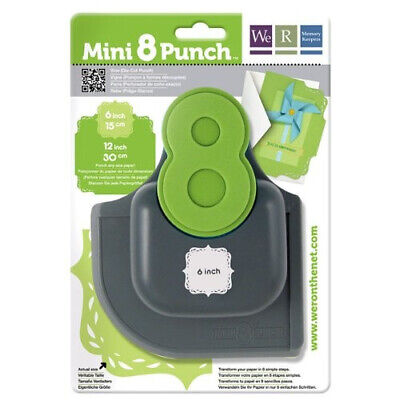 """(Vine, 6"""") - We R Memory Keepers Mini 8 Punch, Vine. Free Delivery"""