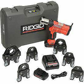 "Ridgid® RP 340 Battery Press Tool Kit w/Propress Jaws, 1/2""-2"", 43358"