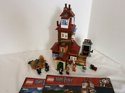 LEGO Harry Potter #4840 The Burrow 100% Complete w/Instructions & Minifigures