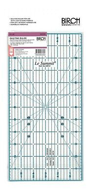 """Le Summit QUILT STANDARD 6""""x12"""" Acrylic Clear Quilting Ruler Template"""