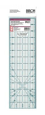 """Le Summit QUILT STANDARD 4""""x14"""" Acrylic Clear Quilting Ruler Template"""