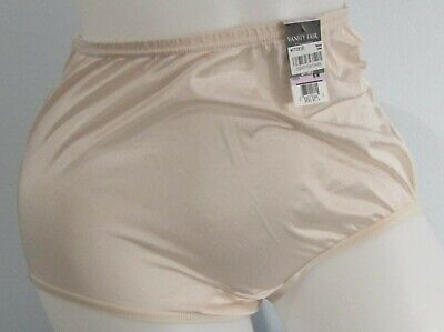 Vintage Vanity Fair 100% Nylon Tricot Brief Panty Fawn Size 6 NWT