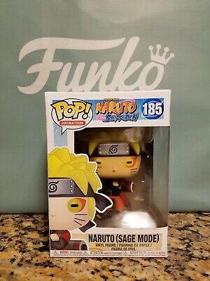 Naruto (Sage Mode) GameStop Exclusive Funko Pop #185, Box Flawed
