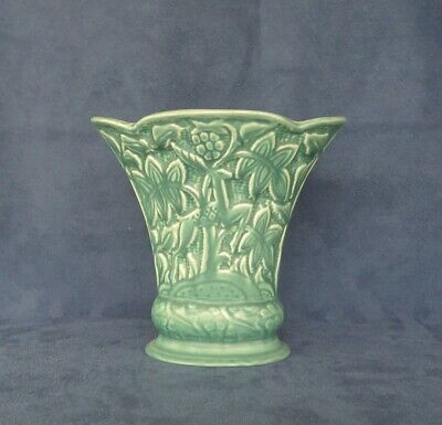 Art Deco Leaping Dear Vase Shorter And Sons Rare