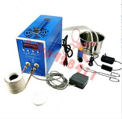 Induction Heating Machine High-frequency quenching machine with Crucible ZVS NEW