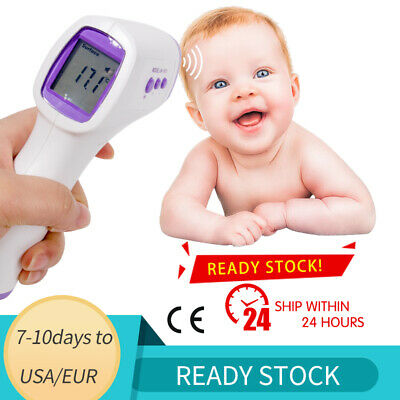 Baby Thermometer Infrared Digital LCD Forehead Ear Non-Contact Adult Body Fever
