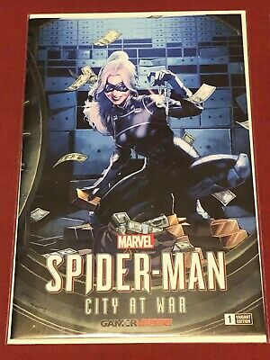 OF 6 SPIDER-MAN CITY AT WAR #1 UNKNOWN COMIC BOOKS ANACLETO LMTD VIRGIN EXCLUS