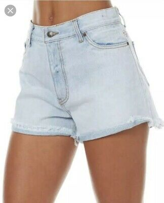 Rusty Light Blue Denim Shorts Size 10