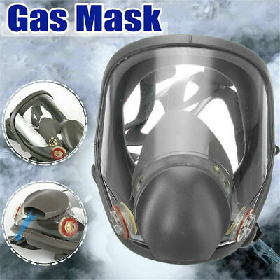 7 in1 Full Face Chemical Spray Painting Respirator Pro Vapour Gas Mask
