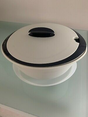 Tupperware 4.3L High Oval  Insulated Server BNWOT