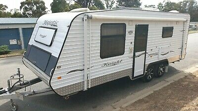 2012 Majestic Knight Caravan Shower Toilet Onsite Bungalow Cabin *SEE VIDEO*