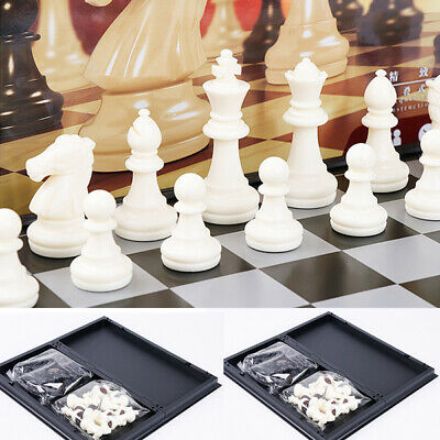2020 Folding Board Chess Set With black and white Portable Travel Magnetic Chess