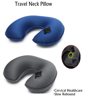 New Useful Neck U Shaped Pillow Cushion USE To Airplane Travel Car Rest Sleeping