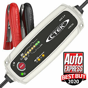CTEK MXS 5.0 12V (Unique 8 step charging Battery Charger & Maintainer.)