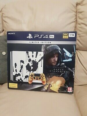 Brand New Ps4 Pro 1tb Limited Edition Death Stranding Console And Game Unopened