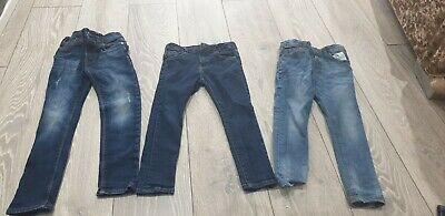 Boys Skinny Jeans Bundle Next Zara River Island Age 4-5