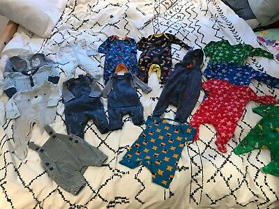 HUGE Baby Boys Mini Club Newborn, 1 Month, 0-3 Month Clothes Outfit Bundle