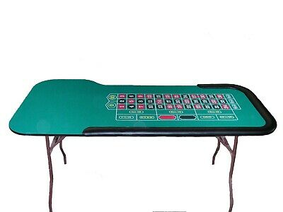 84 Inch Roulette Table Made in USA by ACEM CASINO SUPPLIES