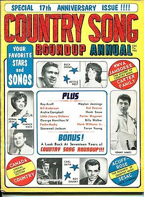 Country Song Roundup Annual #  1966 - Charlton  -VG - Magazine