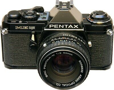 Pentax ME-Super with 50mm F2 lens