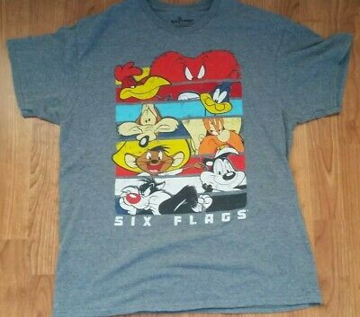 Six Flags Looney Tunes WB Large Shirt