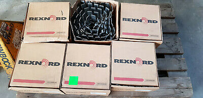 6x REXNORD TableTop Chain Förderband Kette Conveyor Chain 7.5in 10068070 SSC8811