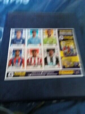 The Only Official Premier League 6 Sticker Collection Panini Football 2020.