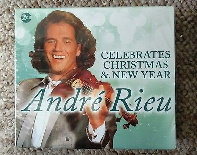 Andre Rieu Celebrates Christmas & New Year Andre Rieu Audio Music CD 2 disc