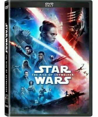 Star Wars The Rise of Skywalker NEW DVD * ACTION * SHIPS NOW !