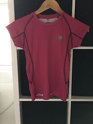 Karrimor Girls Age 11-12 Pink T-shirt (D2)
