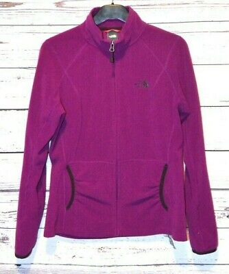 Women's The North Face Lightweight Purple Full-Zip 100% Polyester Jacket M