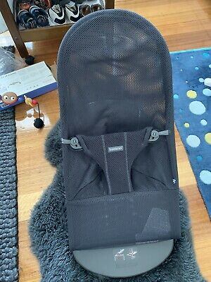 BabyBjorn Bouncer Bliss Mesh Anthracite And Toy