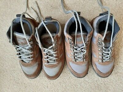 HITEC hi tec ladies walking boots  5 Brown Little used Auction is both pairs.