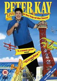 Peter Kay - Live At The Top Of The Tower (DVD, 2004)