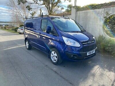 2018 18 ford transit custom limited 130ps euro6 adblue panel van no vat