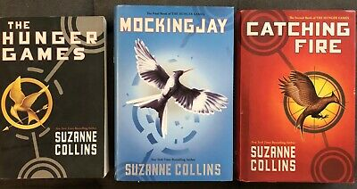 Hunger Games Trilogy Complete BOOK SET mixed paperback Hardcover Suzanne Collins