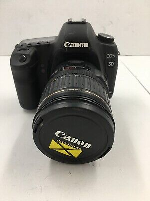 Canon EOS 5D Mark II 21.1MP Digital SLR Camera - Black With 28-135mm Ultra Sonic