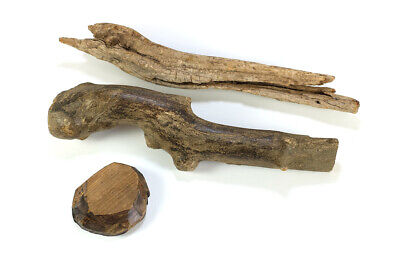 Natural Wood Branch Bases for Bird Carvings or Other Art Project