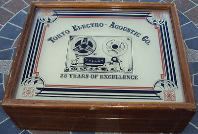 "TEAC Tape Maintenance Box Kit, RARE Vintage ""25 Years of Excellence"" anniversary"