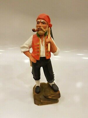 Henning Norway Hand Carved Man 1970's