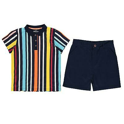 SoulCal Boys Chino Clothing Set Jeans Trousers Bottoms Shorts Polo Shirt Top