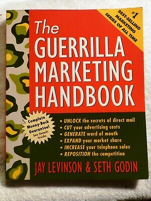 Jay Conrad Levinson THE GUERILLA MARKETING HANDBOOK Seth Godin 1st EDITION