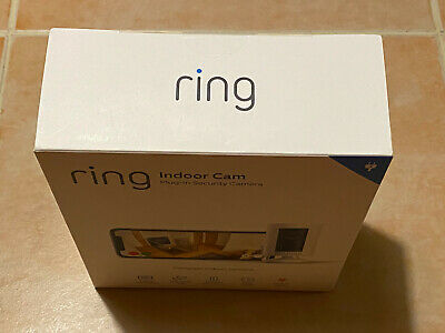 BRAND NEWE RING  Indoor  Wi-Fi Security HD 1080P Camera Two Way Talk White.
