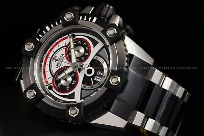Invicta 63mm Reserve Grand Octane Arsenal Joker Dial Swiss Two Tone Black Watch