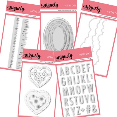 Uniquely Creative Dies for Scrapbooking Cardmaking Papercraft